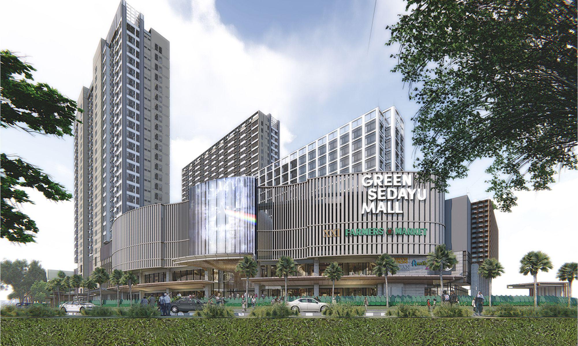 green sedayu apartment